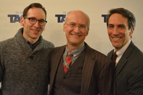 Stephen Kunken, Jeff Talbott and Robert Sella