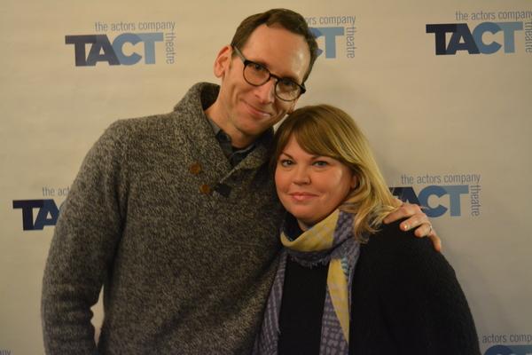 Jenn Thompson and Stephen Kunken