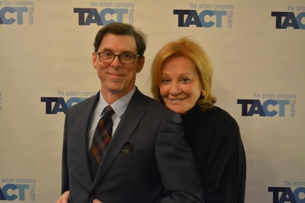 Scott Alan Evans with Cynthia Harris Photo
