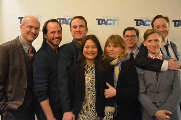 Jeff Talbott, Todd Lawson, Ted Koch, KK Moggie, Jenn Thompson, Scott Alan Evans, Jeremy Beck and Jeffrey C. Hawkins