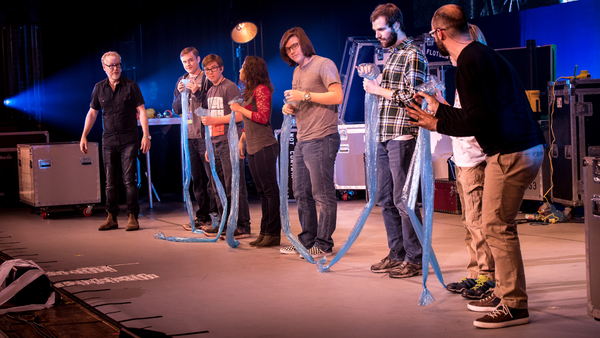 Photo Flash: Adam Savage and Michael Stevens Feed Audiences Across the Country with BRAIN CANDY LIVE!