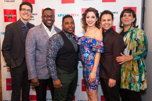 Adam LaSalle, David Robbins, Eric A. Lewis, Michelle Lauto and Yando Lopez, Christine Photo