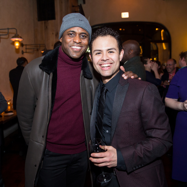Wayne Brady and Yando Lopez