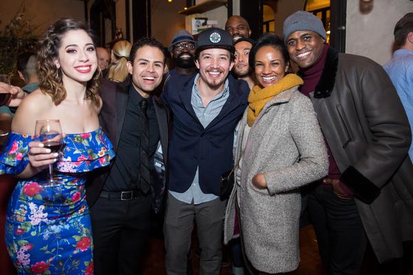Michelle Lauto and Yando Lopez, Joseph Morales, Mekia Cox and Wayne Brady Photo