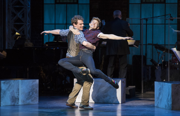 Jay Armstrong Johnson and Andrew Keenan-Bolger