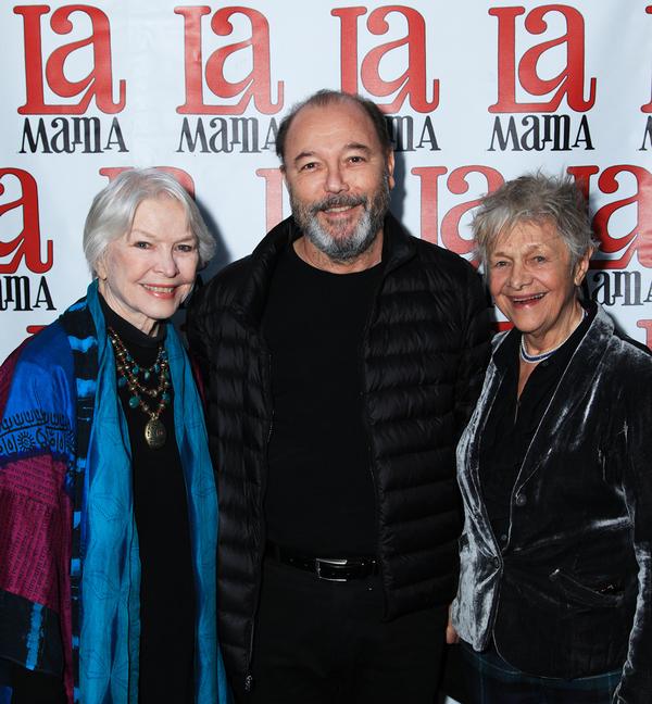 Ellen Burstyn, Ruben Blades, and Estelle Parsons