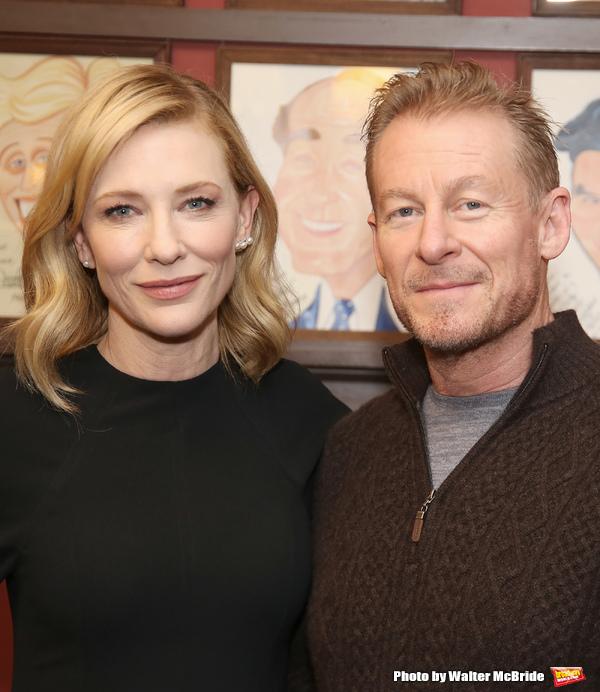 Cate Blanchett and Richard Roxburgh Photo