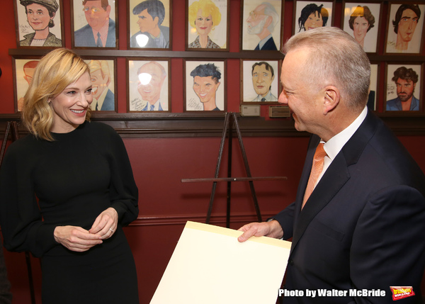 Cate Blanchett and Max Klimavicius