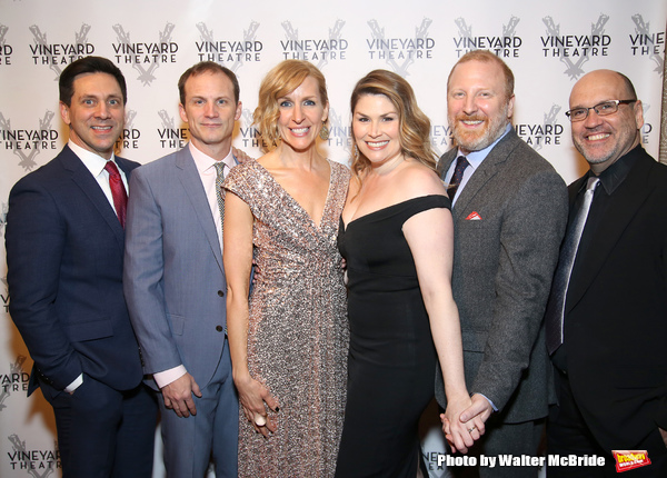 Michael Berresse, Jeff Bowen, Susan Blackwell, Heidi Blickenstaff, Hunter Bell and Larry Pressgrove