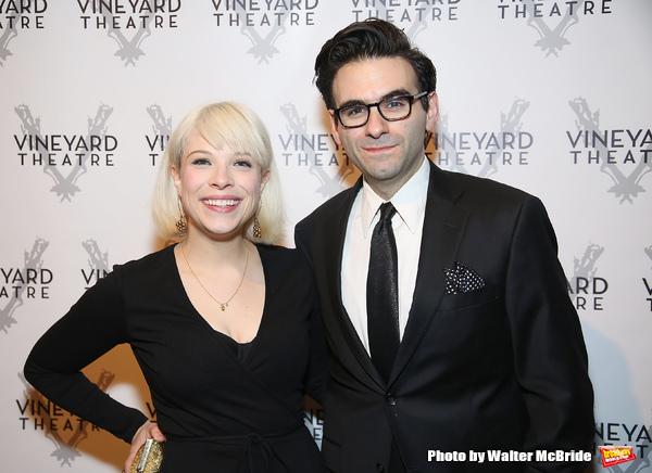 Lauren Marcus and Joe Iconis