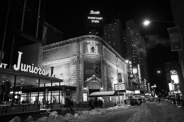 Photo Coverage: Broadway Gets Buried Under Winter Storm Stella