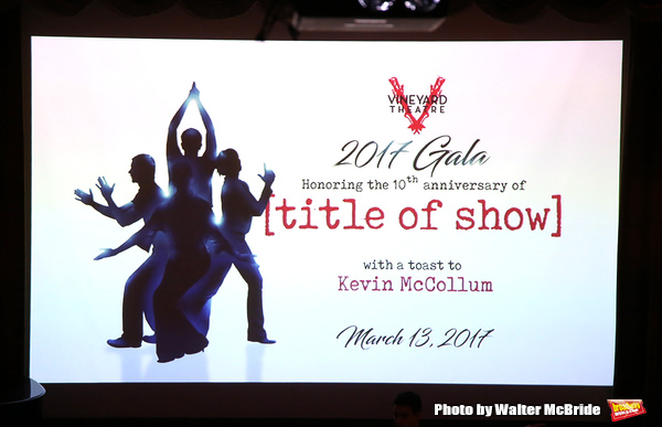 Vineyard Theatre 2017 Gala at the Edison Ballroom on March 14, 2017 in New York City.