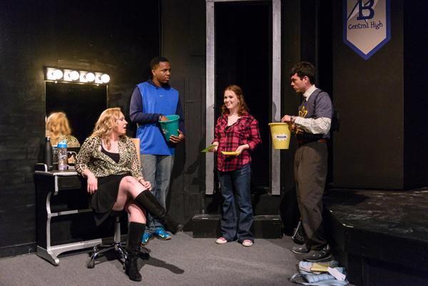 Kara Leonard, Dumar Valencia, Meghan Anderson, and Brady Steven Photo
