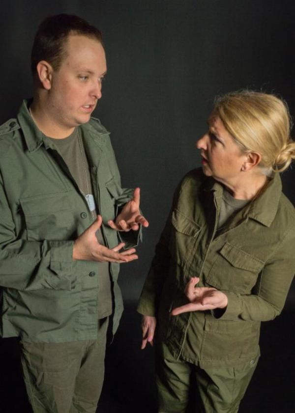 Ben Jones and Sue Kuehnhold