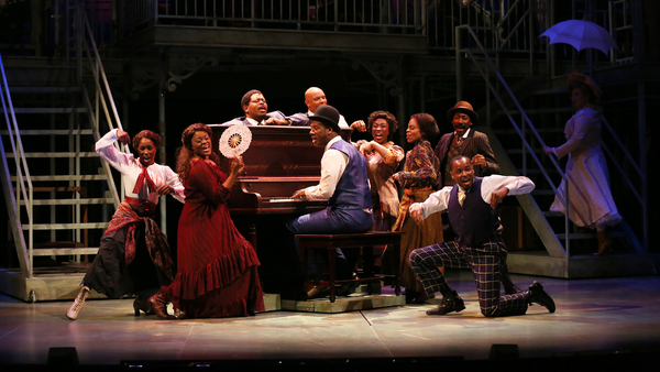 Photo Flash: First Look at Kevin McAllister, Tracy Lynn Oliver, Nova Y. Payton, Jonathan Atkinson and More in RAGTIME at Ford's Theatre