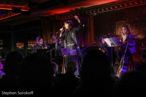 Photo Coverage: Bright Star Carmen Cusack Shines at Feinstein's/54 Below