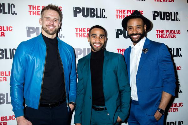Adam Perry, Jonathan Burke, James Brown III Photo
