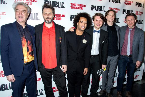 David Byrne, Yuval Lion, Bobby Wooten III, Oskar Stenmark, John Klenga, Kris Kukul