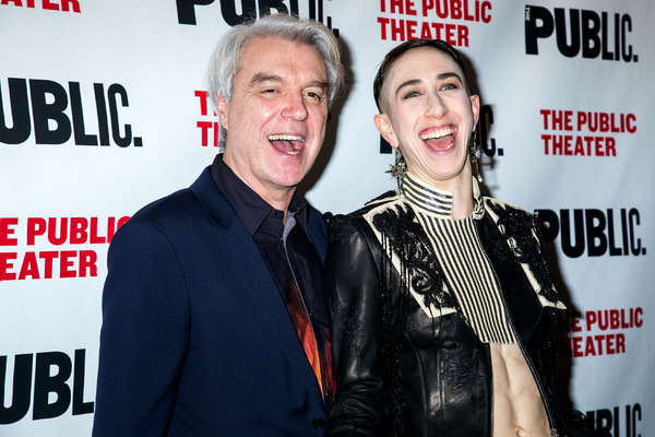 Photo Coverage: Go Inside Opening Night of David Byrne's JOAN OF ARC at the Public Theater