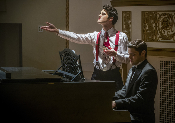 Darren Criss and Jeremy Jordan