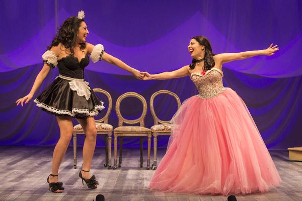 Esperanza America and Ella Saldana North