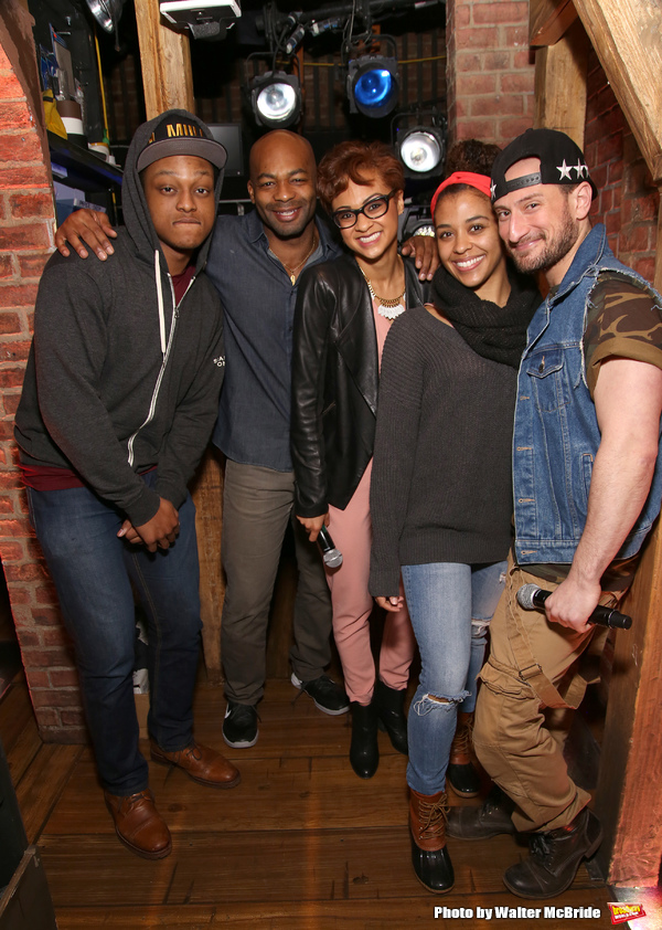J. Quinton Johnson, Brandon Victor Dixon, Syndee Winters, Sasha Hollinger and Roddy Kennedy