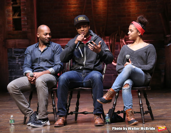 Brandon Victor Dixon, J. Quinton Johnson and Sasha Hollinger