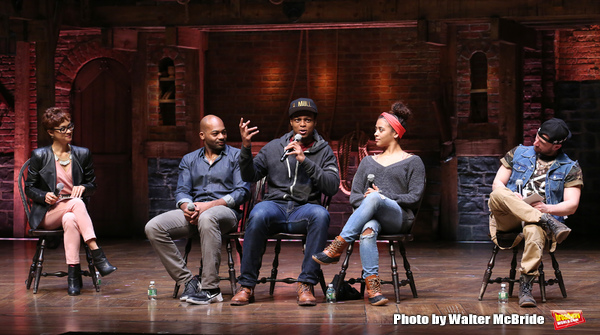Syndee Winters, Brandon Victor Dixon, J. Quinton Johnson, Sasha Hollinger and Roddy Kennedy