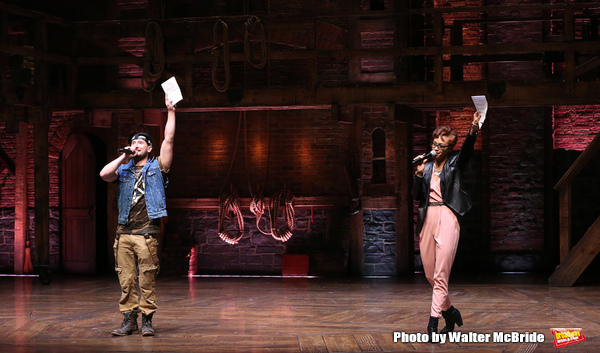Photo Coverage: Students Get a History Lesson at HAMILTON's Latest #EduHam Matinee!