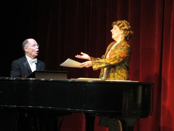 Photo Flash: First Look at SOUVENIR at Bridge Street Theatre