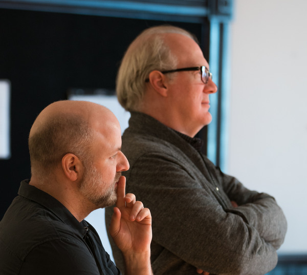 Dexter Bullard and Tracy Letts