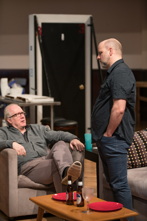Tracy Letts and Dexter Bullard