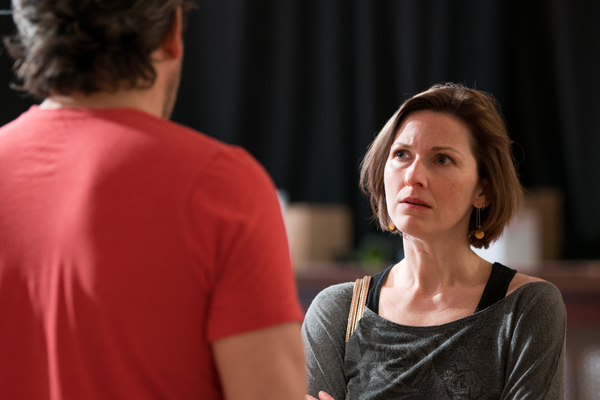 Photo Flash: In Rehearsal with Tracy Letts and More for LINDA VISTA at Steppenwolf