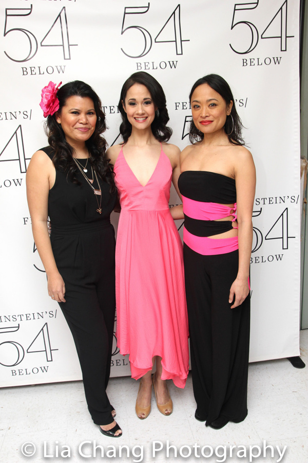 Liz Casasola, Ali Ewoldt and Rona Figueroa