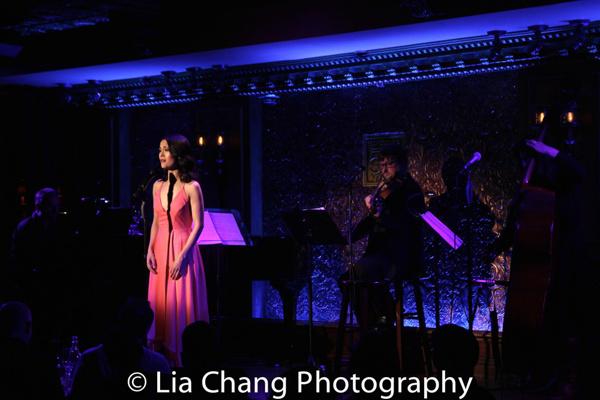 Photo Flash: PHANTOM OF THE OPERA Star Ali Ewoldt Makes Feinstein's/54 Below Solo Debut