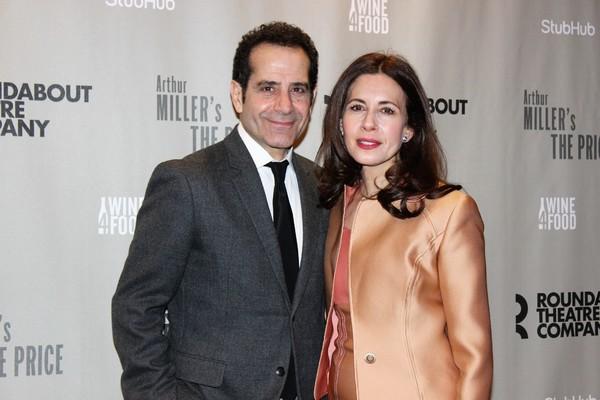 Tony Shaloub and Jessica Hecht