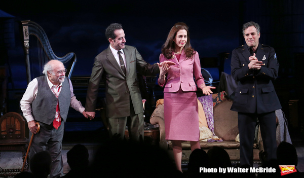 Photo Coverage: THE PRICE Company Takes Opening Night Broadway Bows!