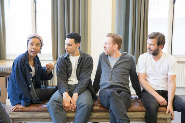 Photo Flash: Inside Rehearsal with Damian Lewis, Sophie Okonedo and More for THE GOAT, OR WHO IS SYLVIA?