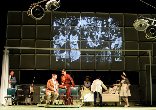 Photo Flash: First Look at Philip Glass's Opera, THE PERFECT AMERICAN, About Walt Disney's Final Days