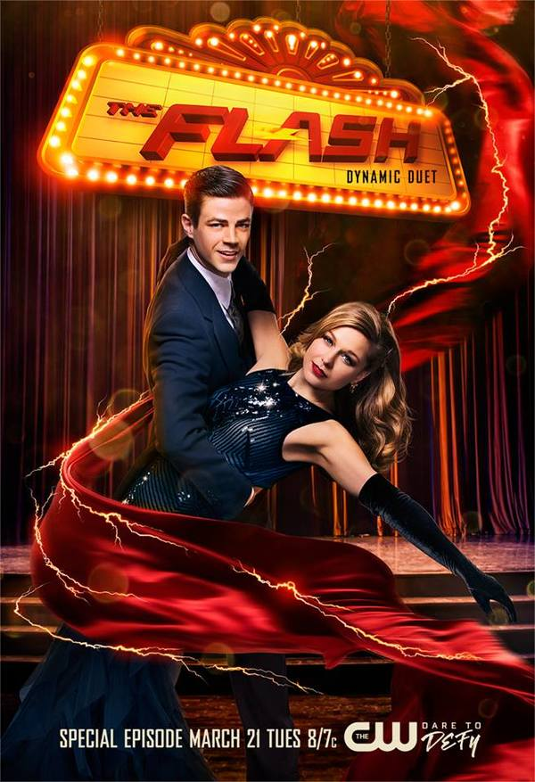 Photo Flash: Poster Art Revealed for FLASH/SUERGIRL Musical Episode
