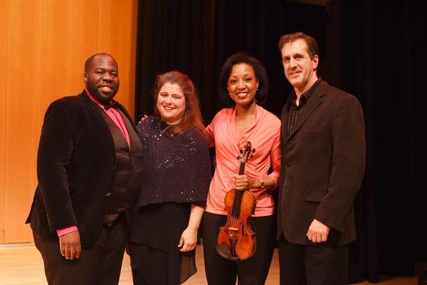 Errin Brooks, Allison Charney, Kelly Hall-Tompkins and Craig Ketter Photo