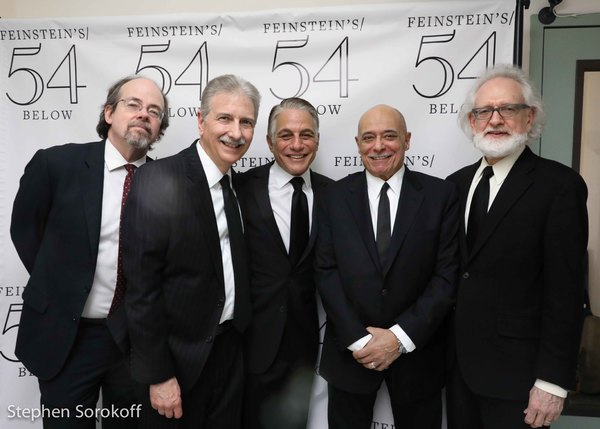 John Arbo, John Oddo, Tony Danza, Ed Caccavale, Dave Shoup Photo