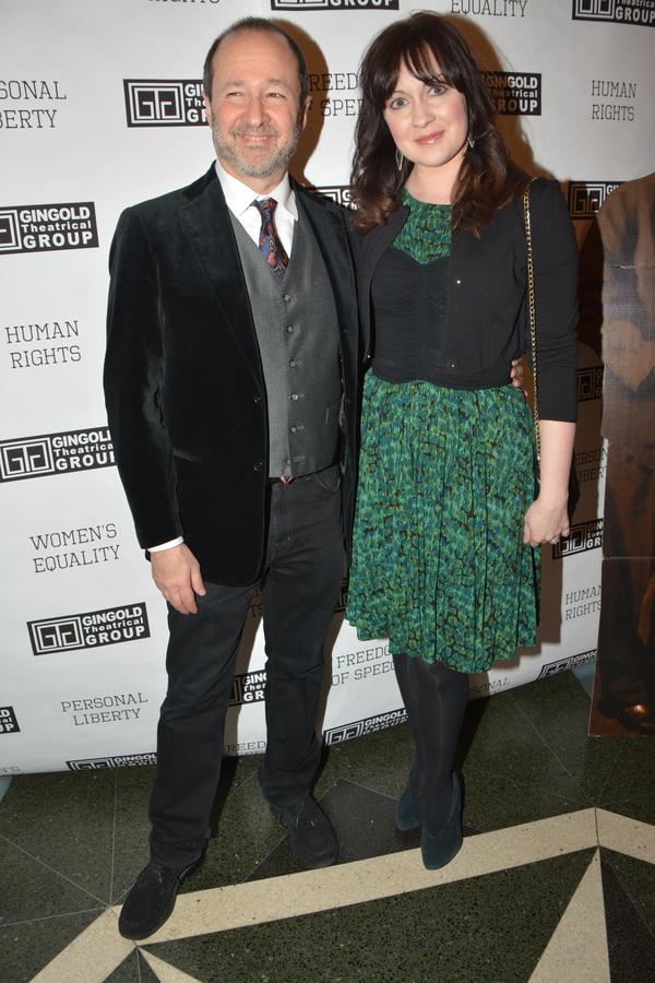Steven Lutvak and Catherine Walker