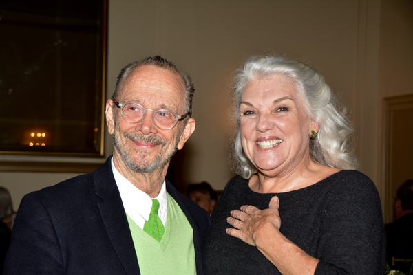 Joel Grey and Tyne Daly