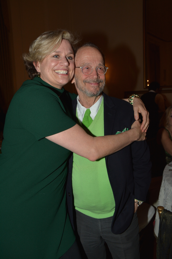 Cady Huffman and Joel Grey