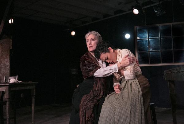 Bernadette Sullivan and Kalean Ung