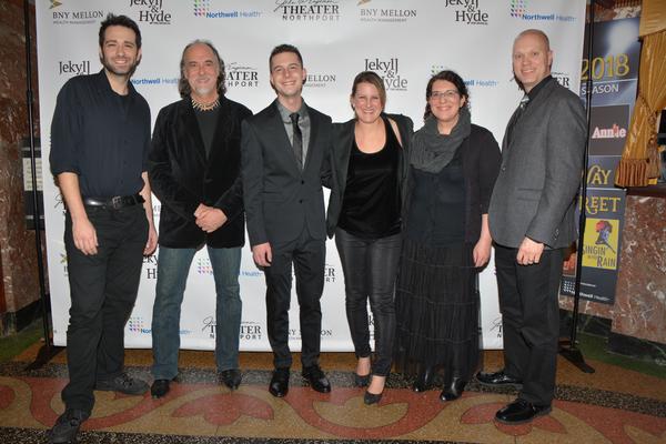 Kristen Lee Rosenfeld, Anthony Brindisi, Russ Brown, Josh Endlich, Douglas Baldwin an Photo