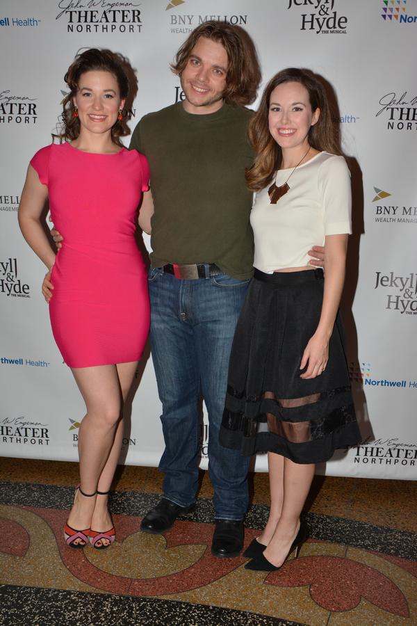 Caitlyn Caughell, Nathaniel Hackmann and Liana Hunt