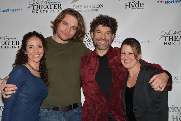 Dana Iannuzzi (Associate Director), Nathaniel Hackmann, Paul Stancato and Kristen Lee Rosenfled