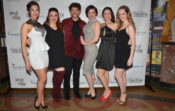 Megan Koumis, Lily Dickinson, Paul Stancato, Laura Helm, Rebecca Kuznick and Teresa Whitt